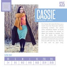 39 Circumstantial Cassie Skirt Lularoe Sizing