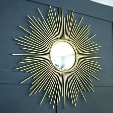 gold sunburst wall decor wire sunburst wall mirror target large mirrors gold gold metal starburst wall decor