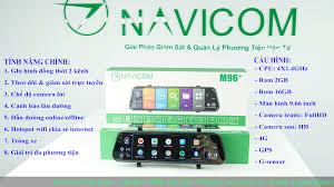 Camera hành trình gương android Navicom M96 Plus - Công Nghệ Việt Nhật