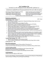 Accountant Resume Summary Best Of Property Manager Resume Should Be