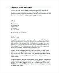 Project Proposal Cover Letters Grant Writing Cover Letter Grant Proposal Cover Letter Grant Funding