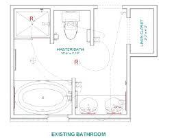 bathroom floor plans 10x10 layout bathrooms 6 x simple master t44 master