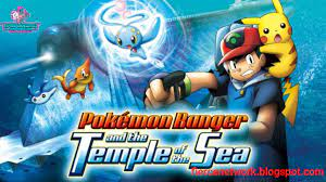 Pokémon Movie 09: Pokémon Ranger and the Temple of the Sea Dubbed in  English Watch Online/Download (Google Drive)