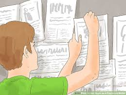 ways to get work as a lance writer wikihow image titled get work as a lance writer step 2
