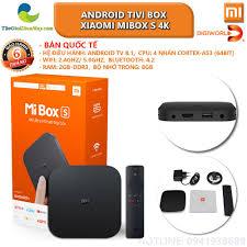 Bản quốc tế] Android Tivi Box Xiaomi Mibox S 4K (Android 8.1) - Bảo hành 6  tháng - Shop Thế giới điện máy