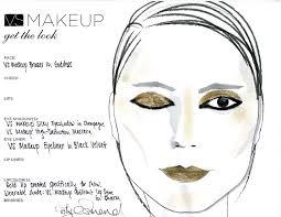 siriano fashion show get the victoria secret makeup look