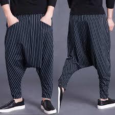 Brand Men's Pants <b>Hiphop</b> Harem <b>Cross pants</b> 5XL Drop Crotch ...