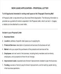 Lease Proposal Letter Fascinating Travel Agency Business Proposal Letter Luxury Business Lease