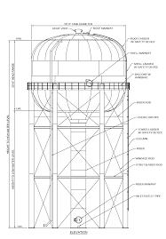 Water Tank Design Elevated Water Tank Design And Engineering Phoenix Tank