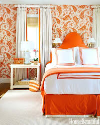 orange and white bedding pattern orange white wallpaper for small master bedroom with orange platform bed orange and white bedding