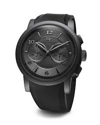 david yurman classic 46mm black pvd chronograph watch in black for gallery