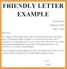 Friendly Letter Format Ideas Of Friendly Letter Templates Free Sample Example Format Layout