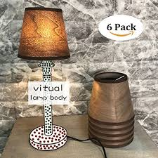 decorative cloth fabric drum lamp shade contemporary for table lamps wooden color floor lamps chandeliers ceiling lights lamp accessories replacement parts