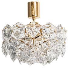 kinkeldey hexagonal crystal chandelier for