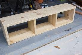 Build a storage bench Outdoor Storage Build Your Own Diy Storage Bench Erin Spain Diy Aztec Patterned Storage Bench behrbox Challenge Reveal Erin