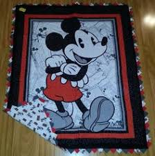 Mickey Mouse Baby Quilt - Ready to ship   Mickey mouse, Mice and 50th & Classic Mickey Mouse Quilt Panel Adamdwight.com