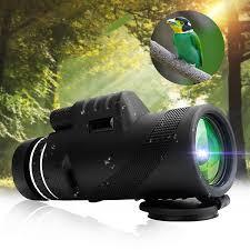 <b>40X60</b> HD Low-Light Night Vision Compact <b>Monocular</b> Telescope ...