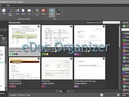 office organizer software. edoc organizer document management software digitial filing paperless office