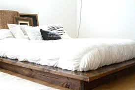 Low Platform Bed Frame Frames Beds King Size In Japan White Twin ...