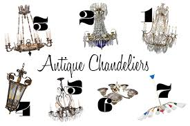 spectacular antique chandeliers from every era