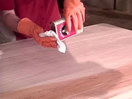 Refinish Stained Wood How To Refinish A Table How Tos Diy