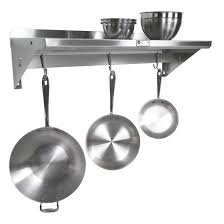 pot rack shelf.  Pot John Boos Commercial Grade Stainless Steel Pot Rack 14 16 Or 18 With Rack Shelf