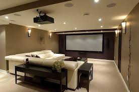 basement home theater.  Home In Basement Home Theater