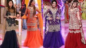 Kashif Designer Dresses 2018 Kashees Sharara Styles Beautiful Dresses By Kashif Aslam