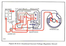 electrical info Need Help Wiring Lights On 6 Volt Yesterdays Tractors voltage regulator cut out relay diagram from john deere manual