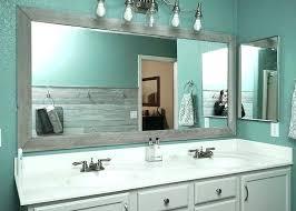 update bathroom mirror bathroom mirror frame update ideas update bathroom mirror