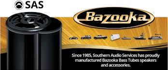 bazooka com bazooka s award winning bass tubes technology provides precise bass response in a space