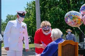 DVIDS - Images - Navy Chief Honors WWII WAVES Veteran On Her 100th Birthday  [Image 1 of 3]