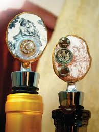 How To Make Decorative Wine Bottle Stoppers 100 Cool Things to Do with Wine Bottles free eBook FaveCrafts 74