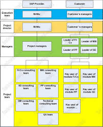 Sap Sd Organizational Structure Flow Chart Implementation Methodology And Organization Structure In Sap