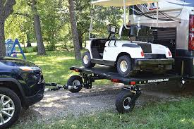 awesome tandem tow dolly pull more behind your motorhome
