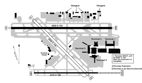 Jfk Airport Taxiway Chart Fort Lauderdale Hollywood International Airport Map Fort