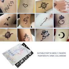 395 шт малый трафареты для блестящих татуировок женщина девочки дети милые