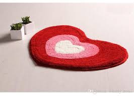 heart shaped rugs best of red pink carpets indoor rugs matting pad cover doormat heart shape