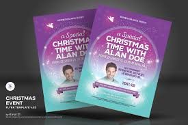 christmas event flyer template christmas event flyer vol 02 corporate identity