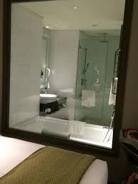 carlton city hotel singapore see through bathroom