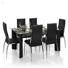 glass dining table set in india. roll over image to zoom in glass dining table set india l