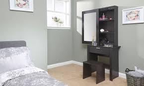Makeup Dresser Hobson Mirrored Dressing Table Set Unit Makeup Dresser Desk Drawer