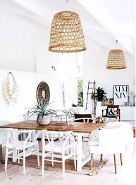 basket pendant light diy basket pendant light with hanging style above round folding table in wood