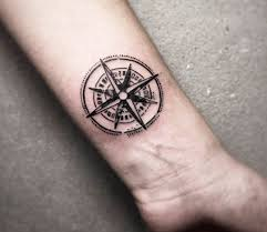 Compass Tattoo By Cana Arik Photo 28654