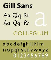 Footlight Mt Light Font For Mac Gill Sans Wikipedia