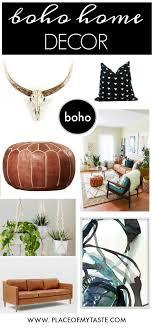 my boho chic home decor style