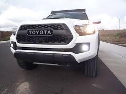 2019 Toyota Tacoma Led Fog Lights Cali Raised Tacoma Fog Light Led Pod Replacement 2016 Cali