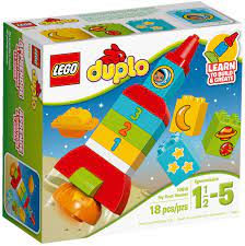 Đồ Chơi Lego Duplo 10815 - Tên Lửa Học Số Đầu Tiên Của Bé