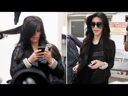 kim kardashian enjoys a pering at