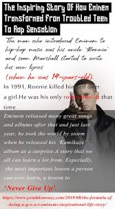 Sensation Chart Chart The Inspiring Story Of How Eminem Transformed From